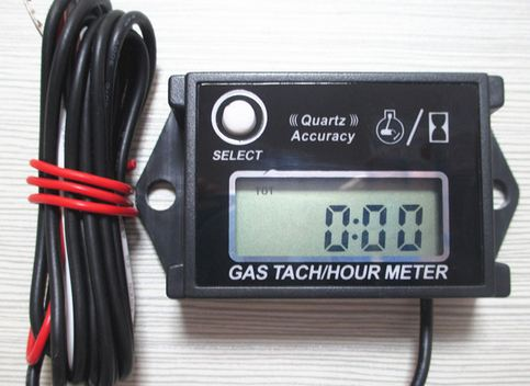 Resettable tach/hour meter