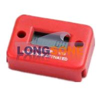 Vibration hour meter SY-N30 Red